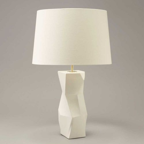 Longton Faceted Table Lamp