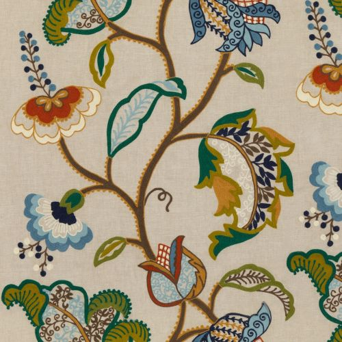 Maxton Embroidered Fabric