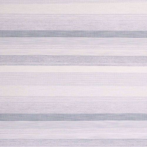 Maya Outdoor Fabric Cielo Blue White Striped