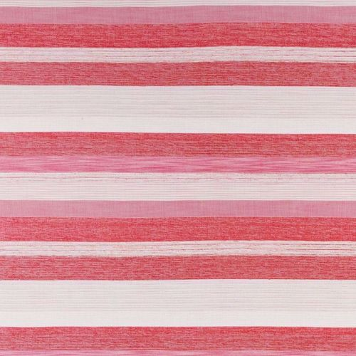 Maya Outdoor Fabric Rosa Pink Red Striped