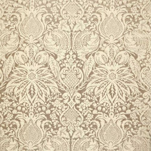 Mitford Weave Cream Damask Fabric