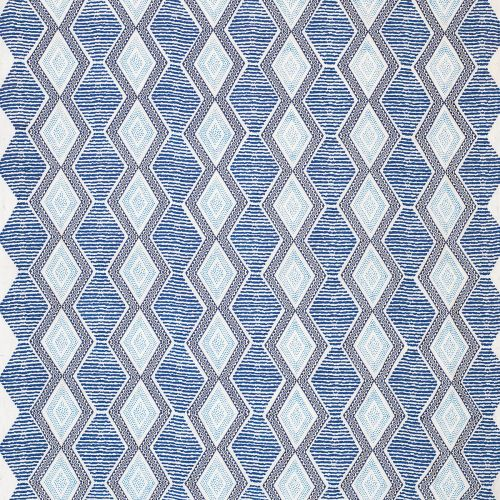 Belle Ile Embroidered Fabric