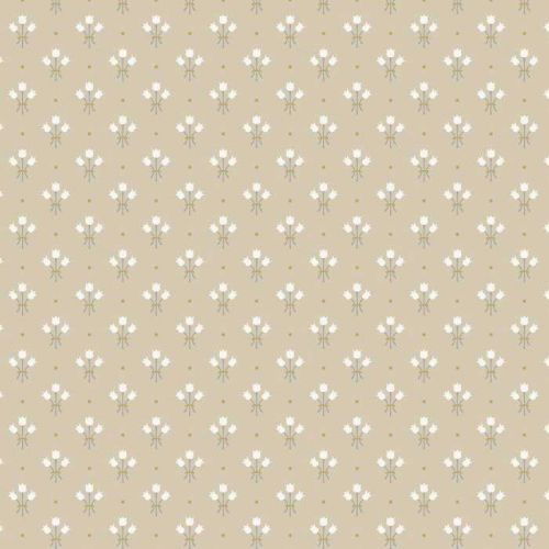 Neutral Floral Wallpaper