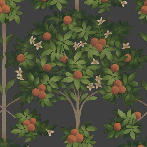 Orange Tree Wallpaper