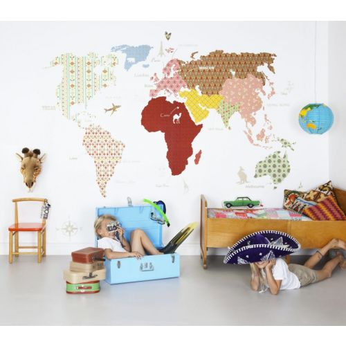 Whole Wide World Wall Panel