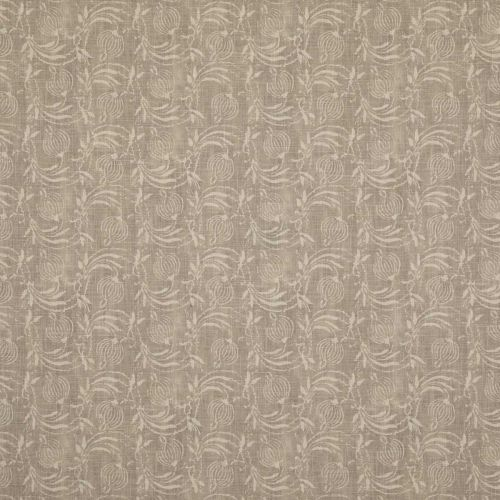 Pomegranate Light Brown Printed Fabric