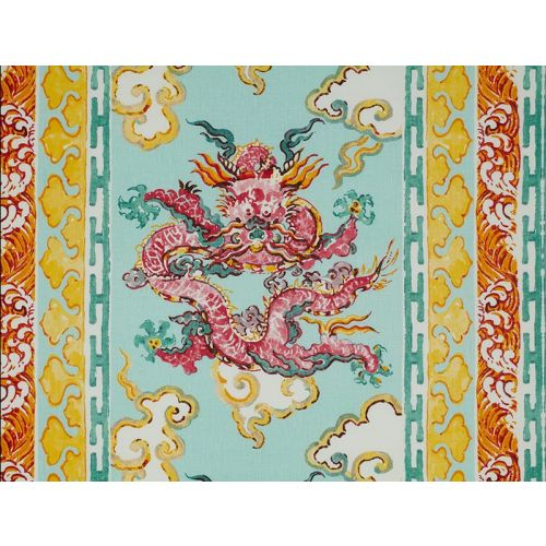 Enter the Dragons Fabric