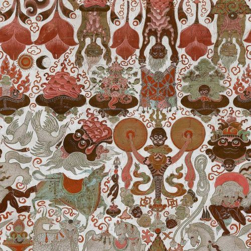 Red and Brown Wallpaper Designs