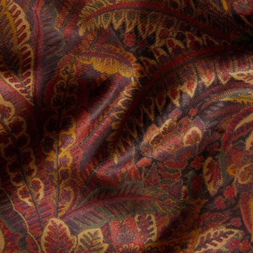Red and Purple Velvet Fabric