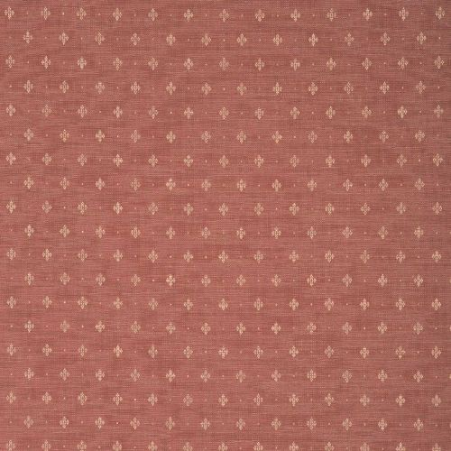 Red Dobby Weave Fabric