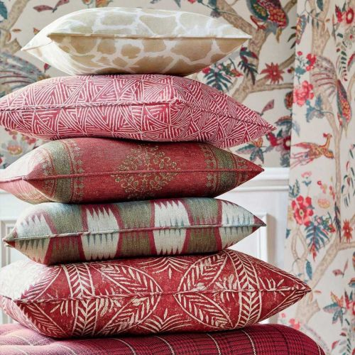 Red Fabric Designs