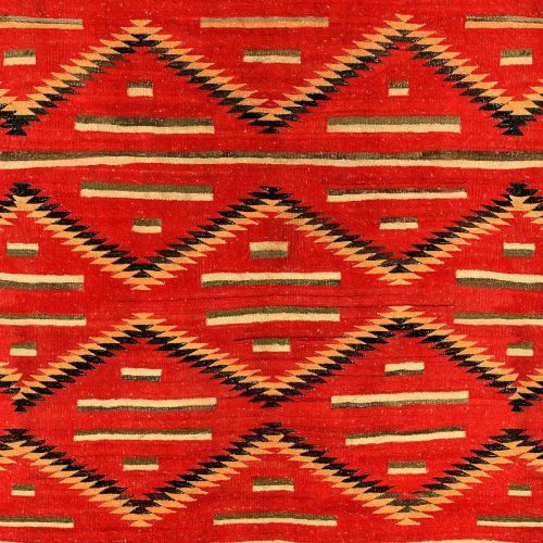 Red Navajo Fabric