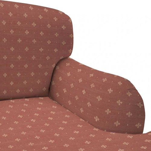 Red Weave Upholstery Fabric
