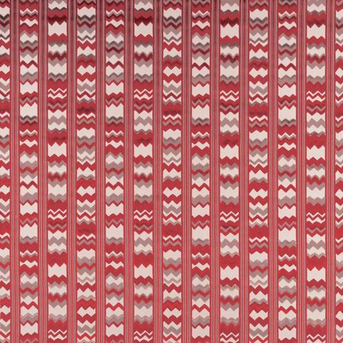 Red Zig Zag Fabric Marchmain
