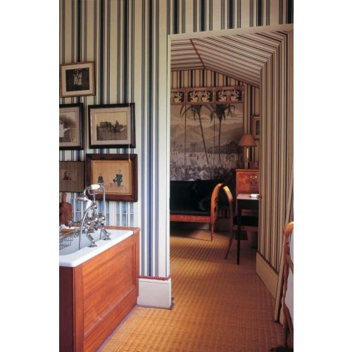 Tented Stripe Wallpaper