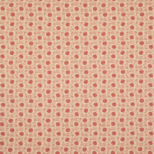Seed Pod Red Print Fabric