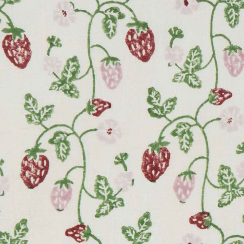 Strawberry Cotton Fabric
