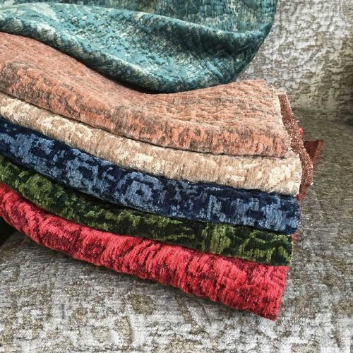 Sulla Chenille Upholstery Fabric