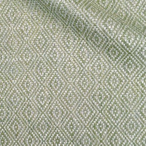 Tarsa Fabric Lichen Green Neutral Diamond