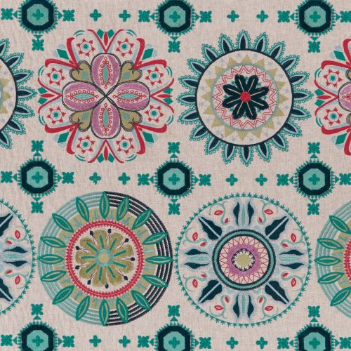 Temara Embroidered Fabric