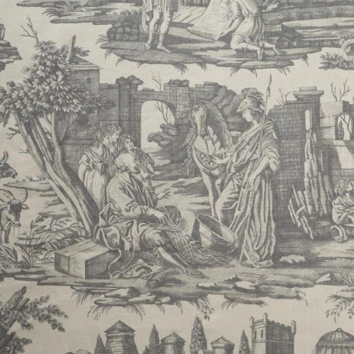 Alexander the Great Toile Fabric