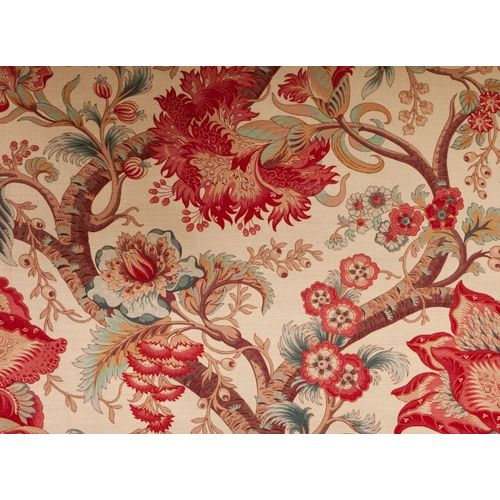 Tree of Life Fabric Pink Oyster