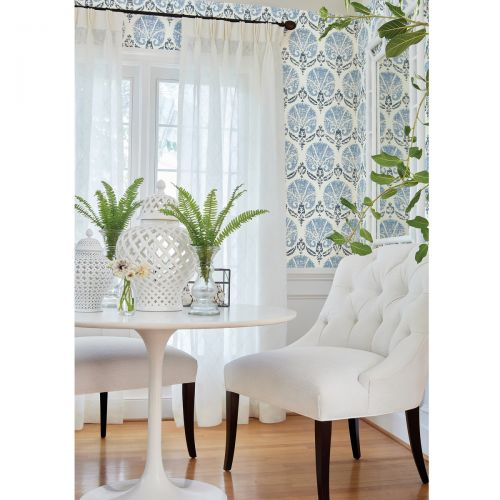 Claremont Trellis Sheer Fabric