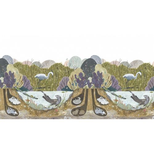 Wild Willows Wall Panel