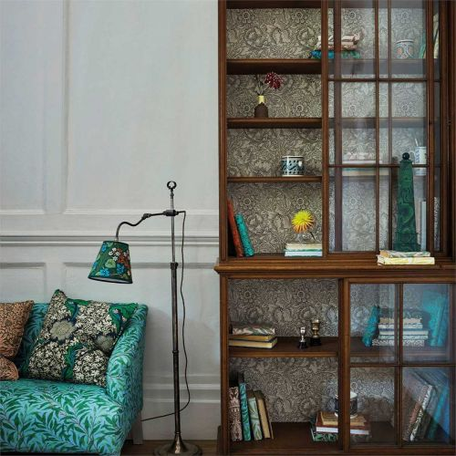 Olive Green and Turquoise Fabric