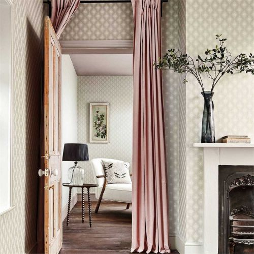 Witney Daisy Neutral and Metallic Wallpaper