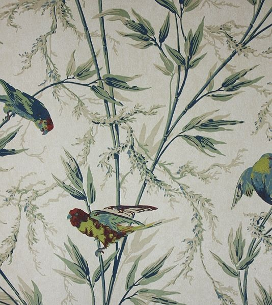 great ormond street wallpaper wallpaper with birds in parchment