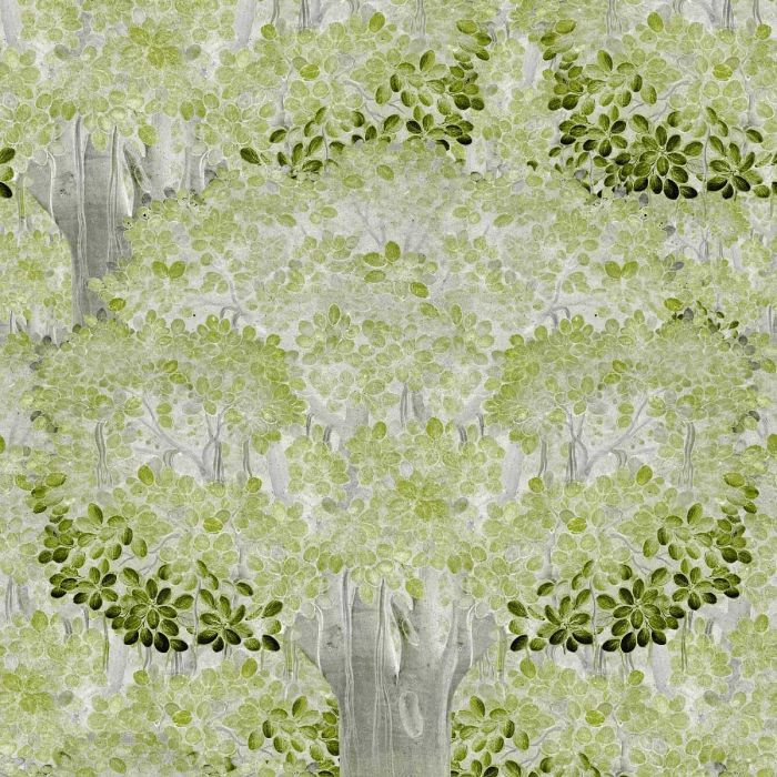 Savage Leaves Lime Green Wallpaper For Walls Mindthegap
