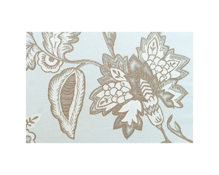 Nina Campbell Peony Place In Black Curtain Fabric By The Metre
