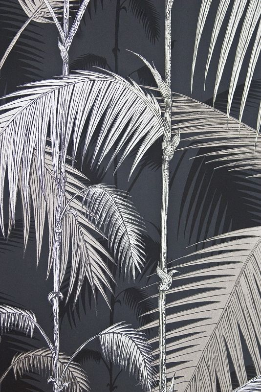Palm Jungle Wallpaper Silver Cole And Son Contemporary Re