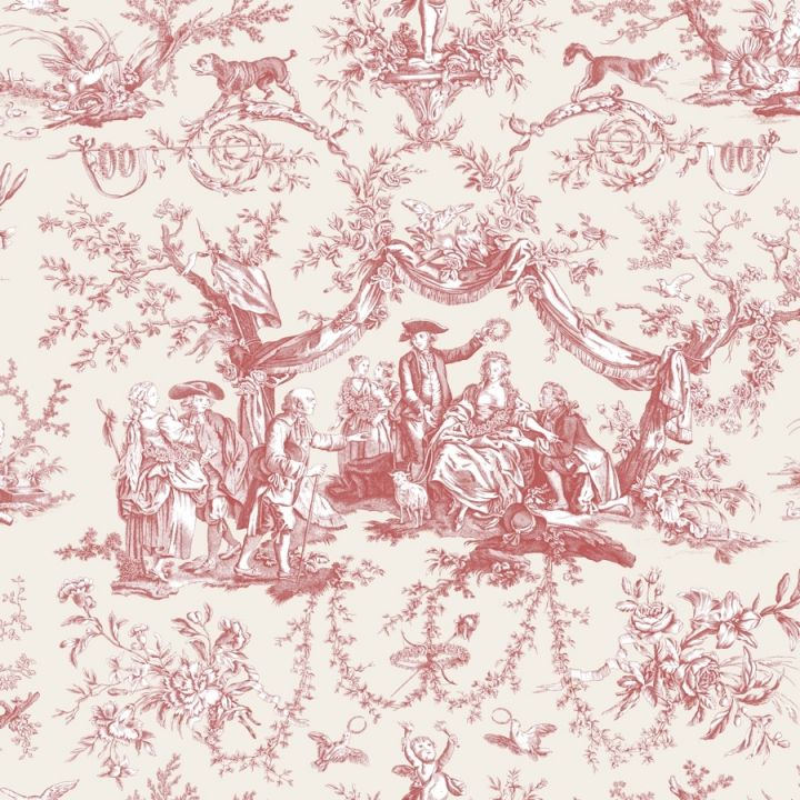 Toile De Jouy Wallpaper French Toile Wallpapers