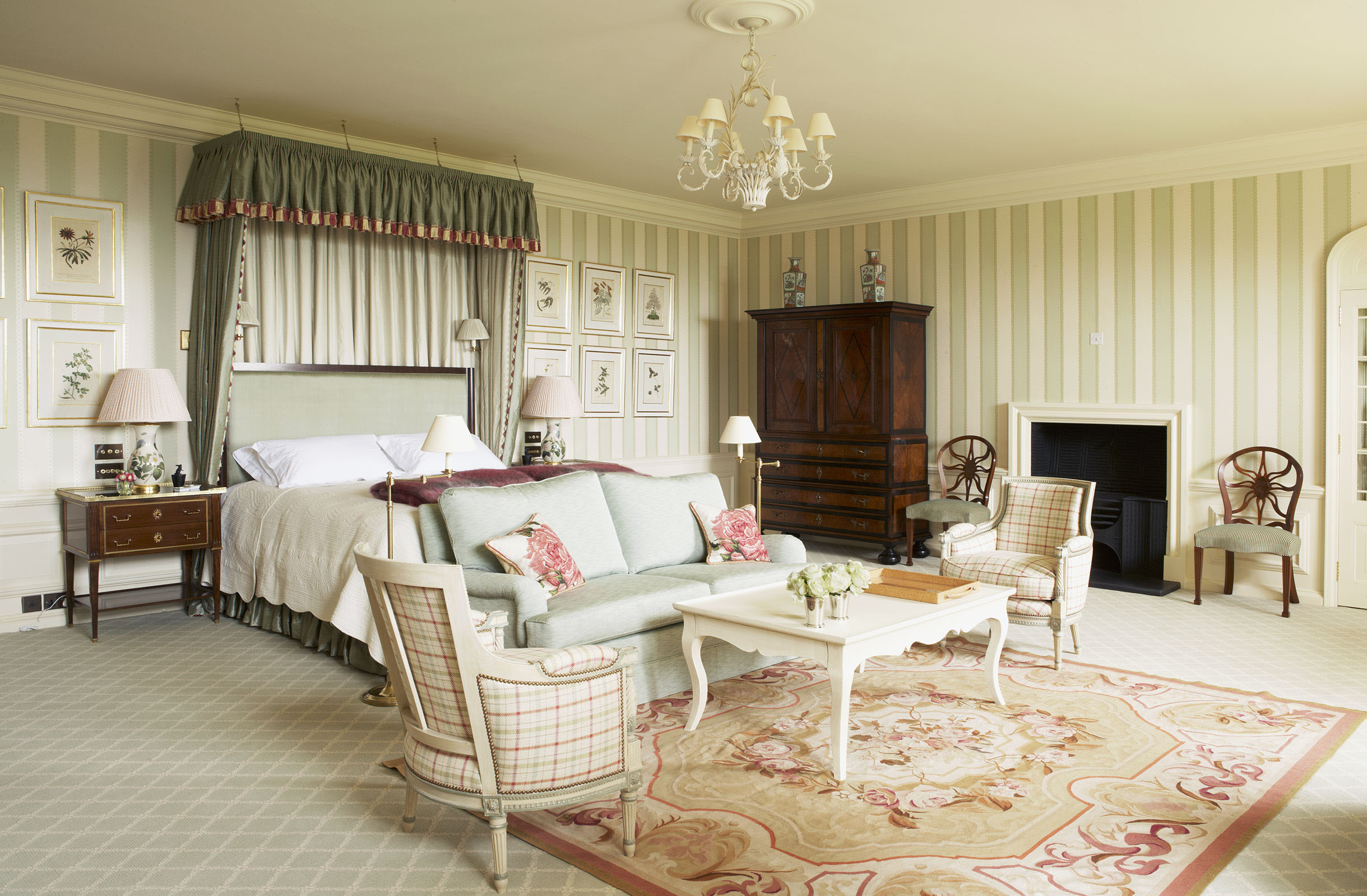 Tranquil Country House Bedroom