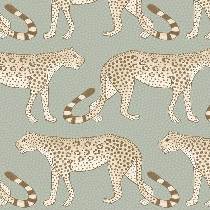 Leopard Walks Wallpaper