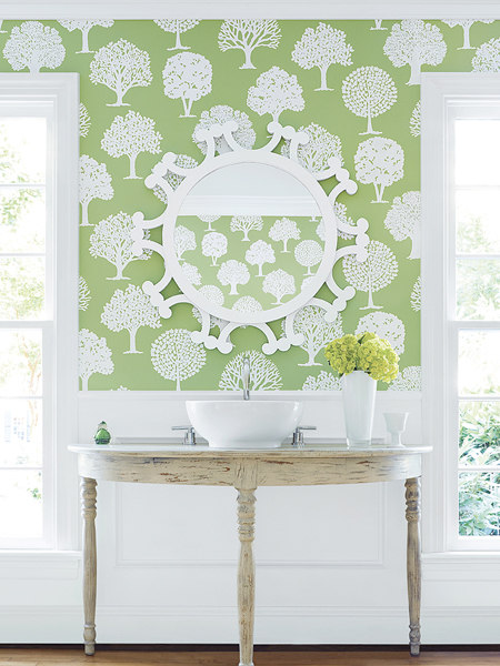 Russel Square Wallpaper from Thibaut