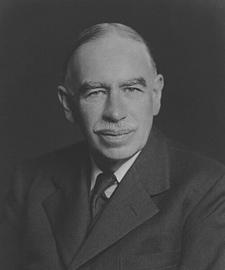 John Maynard Keynes photograph