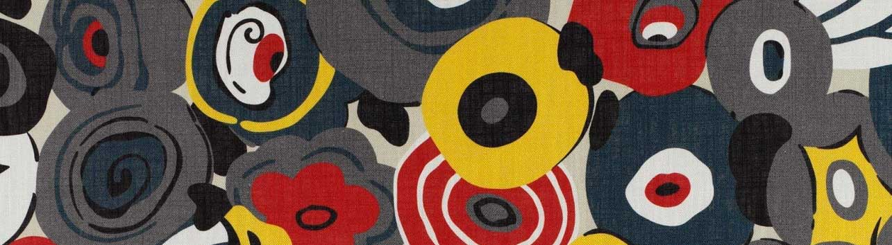 Abstract Floral Fabric