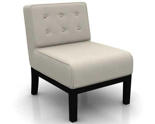 Amberle yArmless Chair