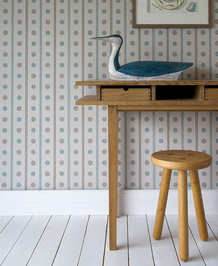 Spey Stripe Wallpaper