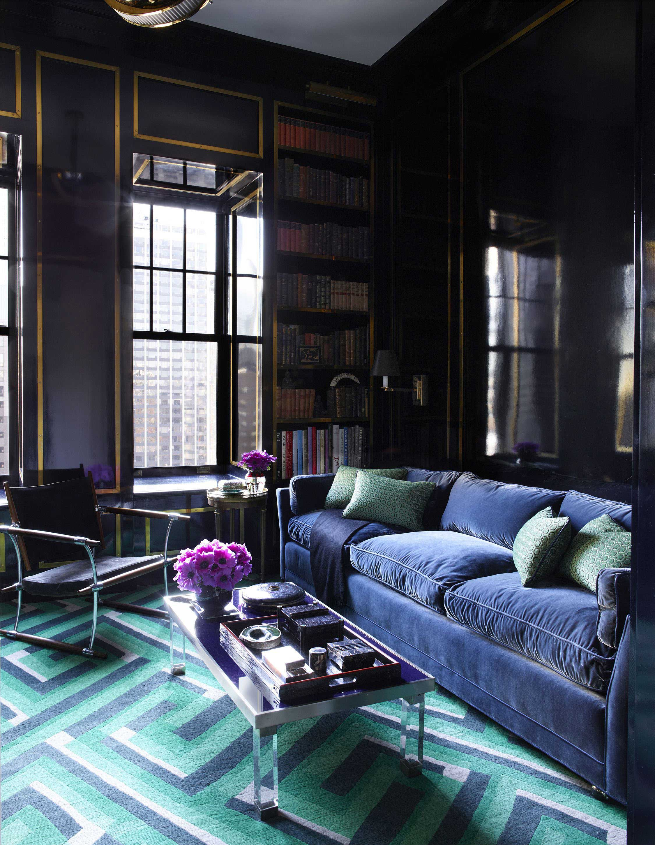 Art Deco Drawing Room Style