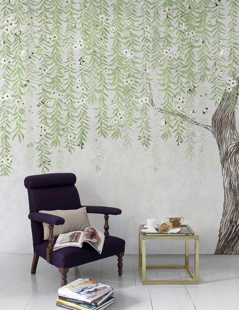 Calming Wallpaper for Bedrooms