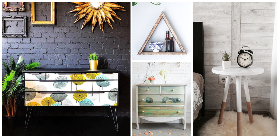 Upcycling projects collage