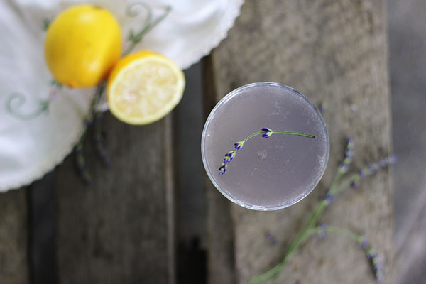 Best Mocktail Recipes - Lavender Lemon