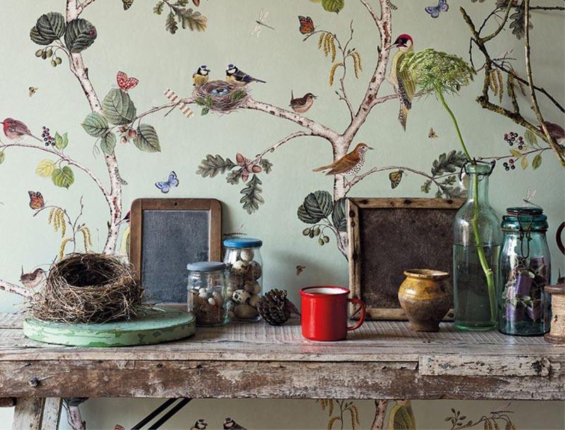 Bird Bedroom Wallpaper Ideas
