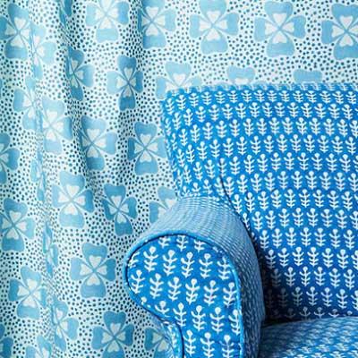 Block Print Fabric Design