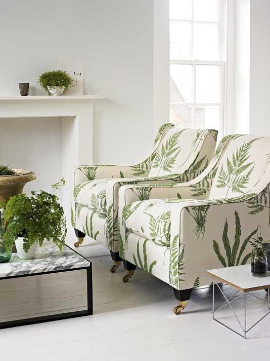 Botanical Print Fabric