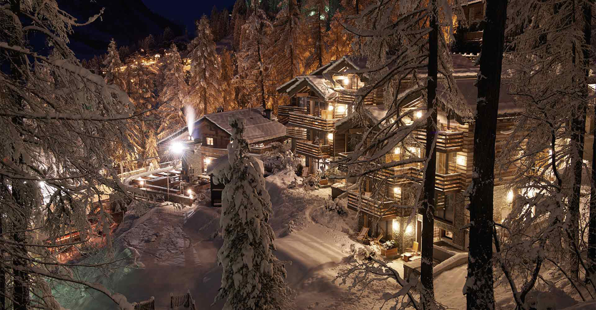 The Swiss boutique ski resort that oozes chalet chic